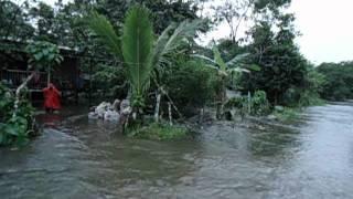 Inundación San Miguel - Putumayo. Barrio la libertad 18 de julio 2012