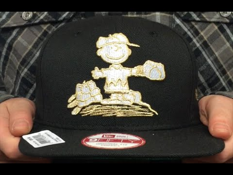 b55b8c2be Charlie Brown  THE PITCH SNAPBACK  Black Hat by New Era - YouTube