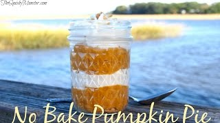 No Bake Pumpkin Pie | The Squishy Monster