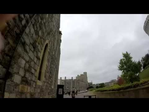 Europe Day 3 - Windsor Castle & Tour Guides Reaction to the Queen of England Drive By