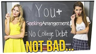 Top 10 Universities Paid for by Sugar Daddies!