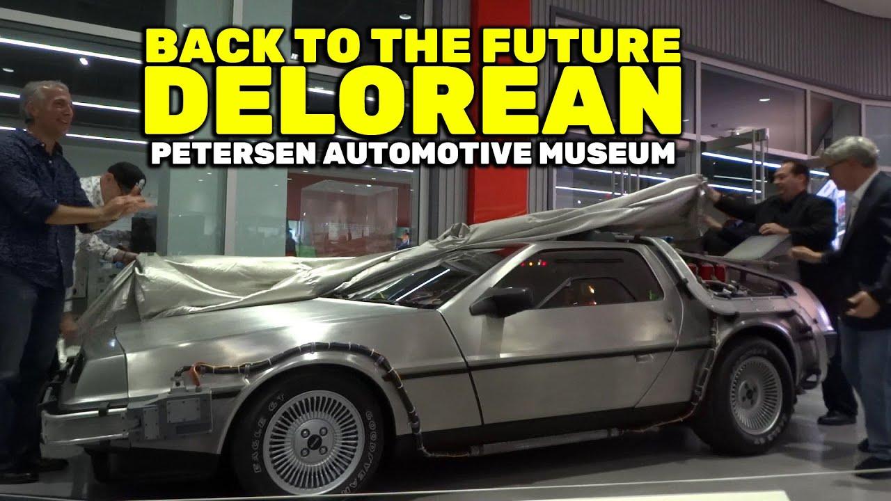 Quot Back To The Future Quot Delorean Quot A Quot Car Unveiling At