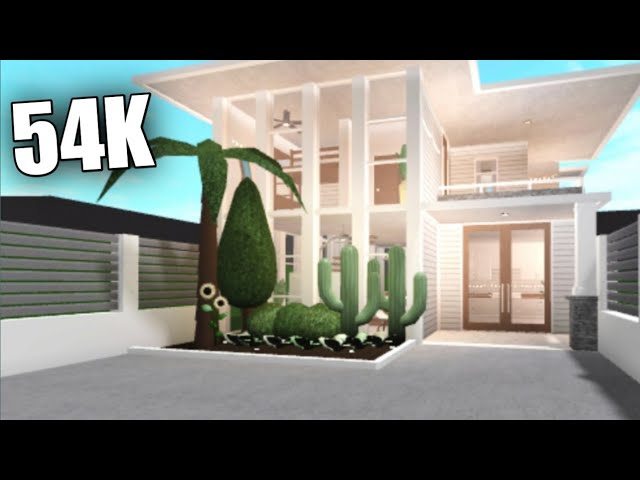 Bloxburg Small Modern Family House House Build Youtube