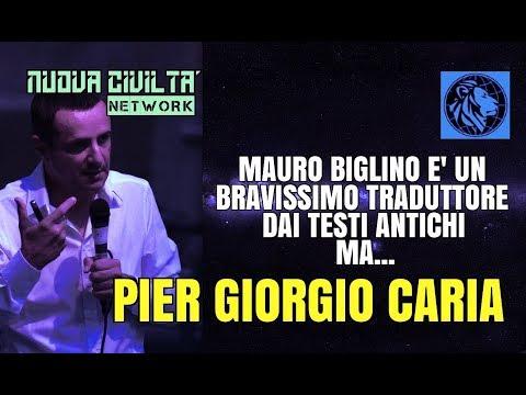 Pier Giorgio Caria - Mauro Biglino E' Un Bravissimo Traduttore Dai Testi Antichi Ma...