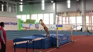 Yuliya Levchenko 1.97 - Рождествен. старты 2018