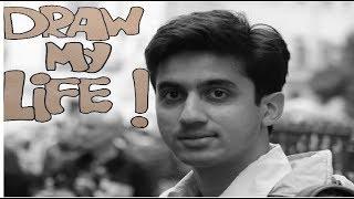 DRAW MY LIFE | Mumbiker Nikhil