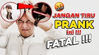 PRANK AJAK DINNER MOMMY | GONE WRONG !!!