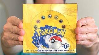 *1ST EDITION BASE SET BOX OF POKEMON CARDS!* Opening It