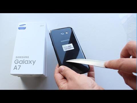 Samsung Galaxy A7 2017 Kutu Açılışı Ön Değerlendirme