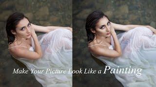 كيفية جعل الصور تبدو مثل لوحة (Photoshop)