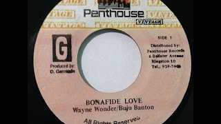 Buju Banton & Wayne Wonder - Bonafide Love (Germain)