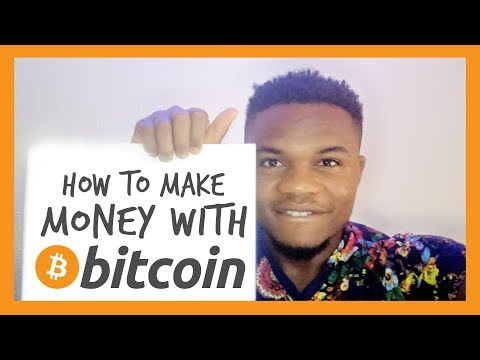 HOW TO MAKE MONEY WITH BITCOIN   CRYPTOCURRENCY FOR BEGINNERS