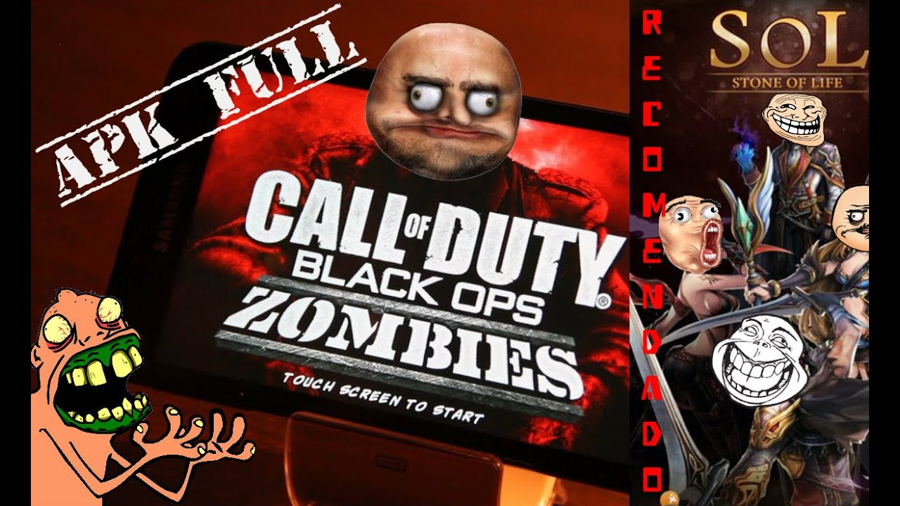 call of duty black ops zombies android apk full y juego recomendado