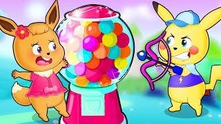Pokemon Family 💖 Pikachu cartoon Funny story with pokemon babie 💖 Pikachu Toys TV (P2)