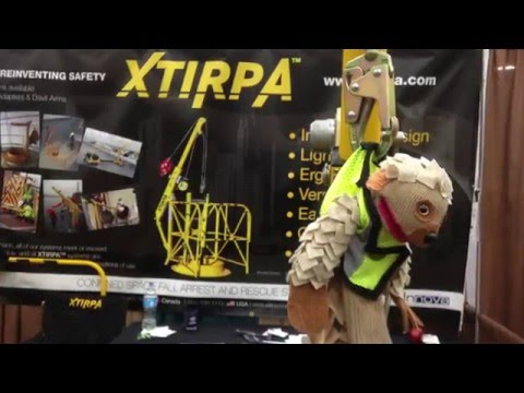 Sock Puppet Safety - Piper Pangolin at Safety 2015