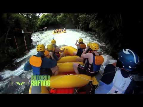 Whitewater Rafting with Rotorua Rafting, New Zealand