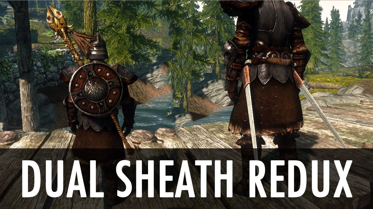 How to create dual sheath redux patches part 1 | modded swords.