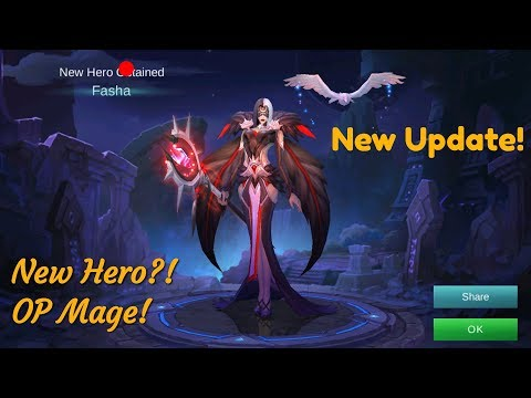 NEW HERO Pharsa Skill Review and Gameplay! OP Mage Epic Ulti. Mobile Legend.