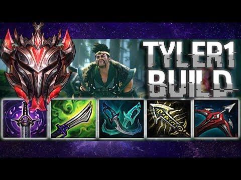 DRAVEN AH 1 l Tyler1 old build ft. New V1ncent Runes ShowTime