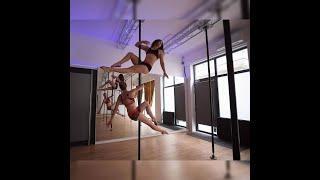 démo pole dance lyon Maele/ cours pole dance lyon