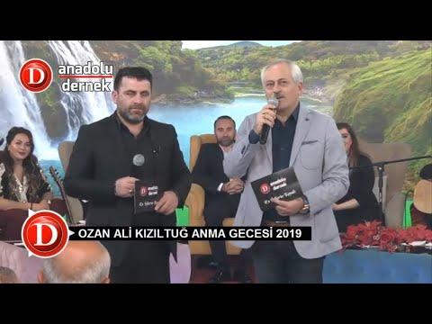 Ozan Ali Kızıltuğ Anma Programı - 2019 (Anadolu Dernek Tv) !!