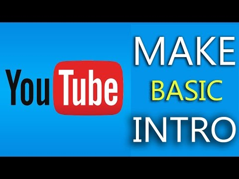 How To Make Basic Intro For YouTube Channel #1 - Creative Bijoy