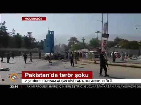 Pakistan'da 2 ayrı terör saldırısı 38 kişi hayatını kaybetti