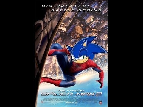 the amazing spider man 2 sonic style youtube