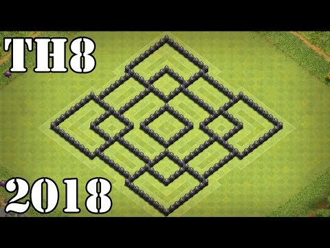 Clash Of Clans (Th8) Town Hall 8 Base 2018 Anti All | Dragon , Gowipe , Hog