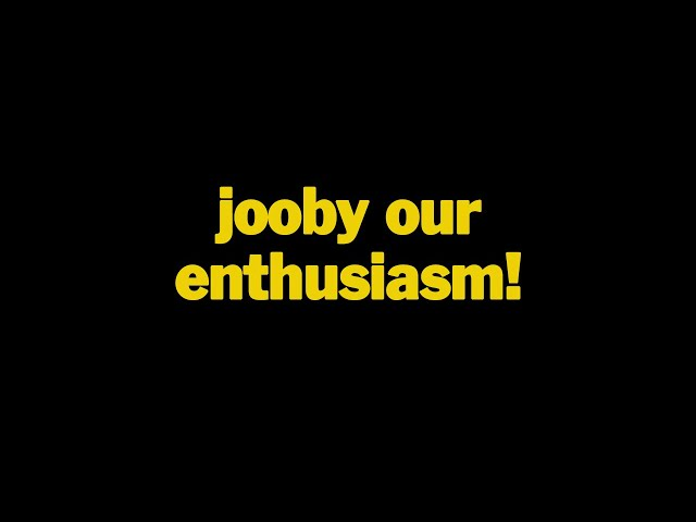 jooby 205: jooby our enthusiasm!