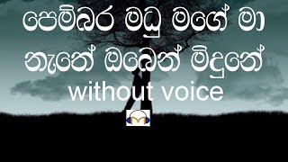 Pembara Madu Mage - Music Track (Without Voice) පෙම්බර මධු මගේ