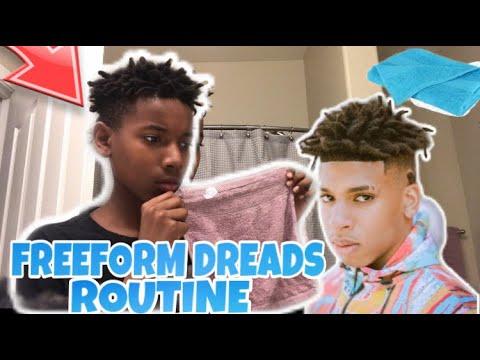 freeform-dreads-like-nle-choppa-(1-month-process)‼️😱