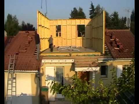 Maisons journay freres agrandissement r novation for Extension maison bois etage