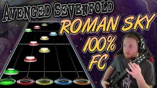 Avenged Sevenfold - Roman Sky 100% Fc  Guitar Hero Custom -- The Stage