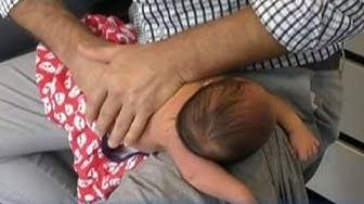 Doctors condemn chiropractor cracking newborn baby's back