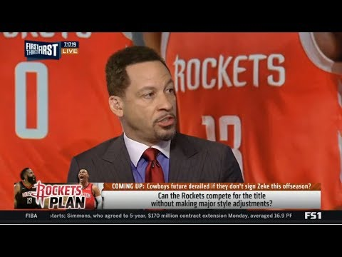 FIRST THINGS FIRST | Chris Broussard SHOCKED: Can Rockets compete for title without making?