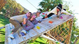 Fındık ailesi. Ayşe ve Asiye  zayıflama kampına gidiyorlar
