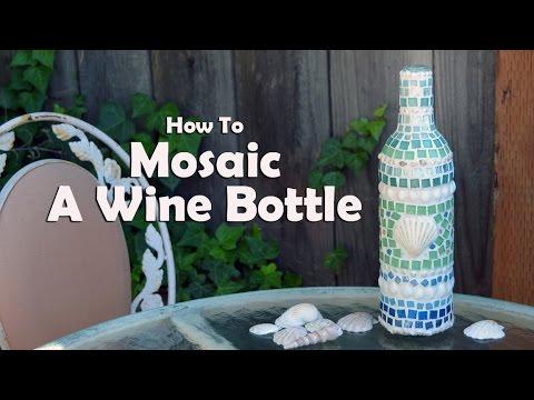 Mosaic Tutorials How To Mosaic Wine Bo