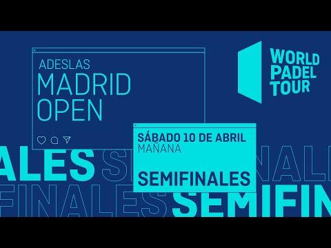 Semifinales Mañana - Adeslas Madrid Open 2021 - World Padel Tour