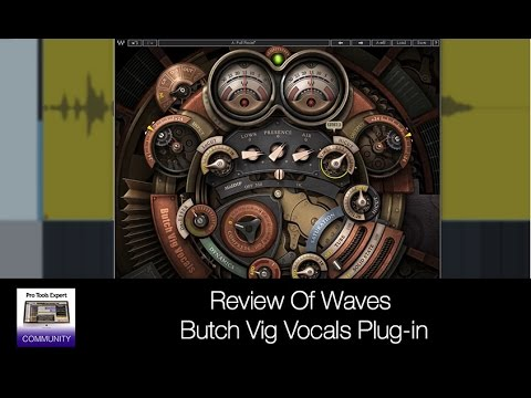 review of waves butch vig vocals plug in youtube. Black Bedroom Furniture Sets. Home Design Ideas