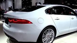 2018 Jaguar XF Automatic Diesel FullSys Features   New Design Exterior Interior   First Impression
