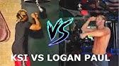 LOGAN PAUL vs KSI Speedbag Challenge
