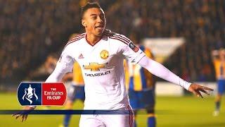 Shrewsbury 0-3 Man Utd - Emirates FA Cup 2015/16 (R5) | Goals & Highlights