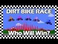 Dirt Bike Race Algodoo Who Will Win Motocross Race mp3