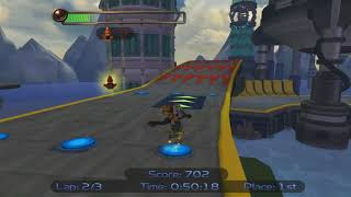 [PB] Ratchet & Clank Kalebo Hoverboard Race 1:24.80 IGT - By Scaff