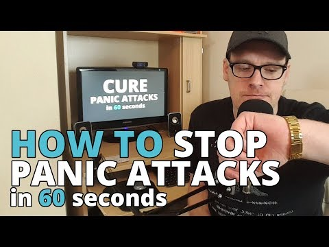 60 Second Panic Attack Cure – The Secret Formula To Stop Panic Attacks