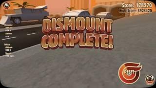 Отсылка к фильму назад в будущее и трон босса-Turbo dismount