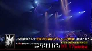 2012年10月17日発売 LIVE DVD 「Acid Black Cherry TOUR 『2012』」...