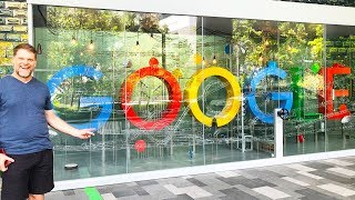We Visit Google Asia, Bush Walk Singapore Forest, What We Ate Today