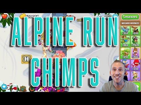 Bloons TD 6 - Alpine Run CHIMPS Walkthrough